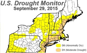 Drought Monitor 9-29-15
