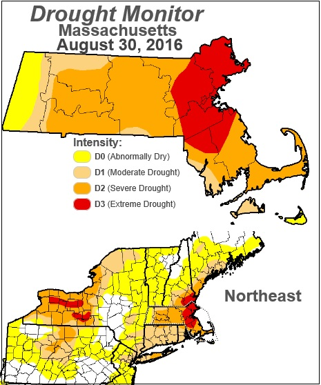 Drought Monitor August 30, 2016