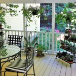 Why not give your houseplants a summer vacation on the porch?