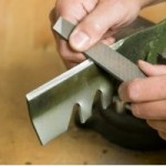 Keep your lawnmower blade sharp to prevent damage to your lawn