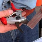 Sharpen tools before you put them away for the season